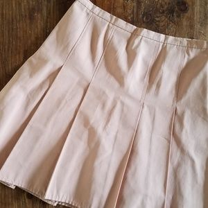 Moschino Dusty Pink Pleated Skirt Size 10 US